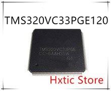 NEW 5PCS/LOT TMS320VC33PGE120 TMS320VC33PGE TQFP-144  IC