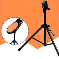 Adjustable Metal Three Legged Drum Pads Cymbal Stand Hardware Mount Braced Drum Holder With Case For