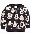 Children's T-shirt, Fashion Shirt, Casual Terry Cartoon Mickey Clothes Children,long Sleeve Girls Boys T Shirt Cotton