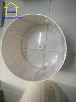 10 pcs E27 medium handmade lampshade classic decorative 55cm flax for table lamp floor lamp fabric cover Rustic Country retro