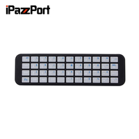 Wireless Bluetooth Mini Keyboard For Apple TV 4 Generation Only From IPazzPort KP 810 56S