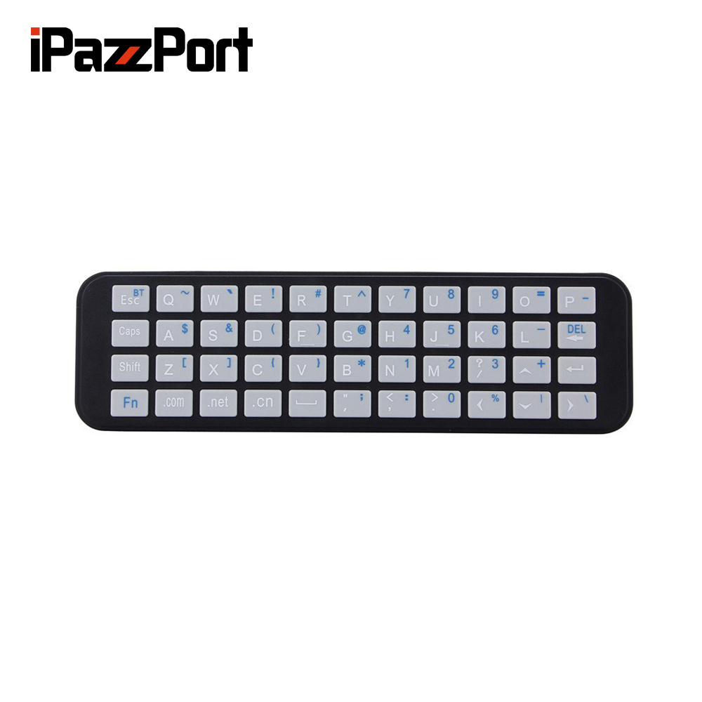 iPazzPort Bluetooth Keyboard for Apple TV 4th Generation and Apple TV Case for Apple TV Siri Remote and Bluetooth Connection держатель h squared tvtray для apple tv 4 поколения