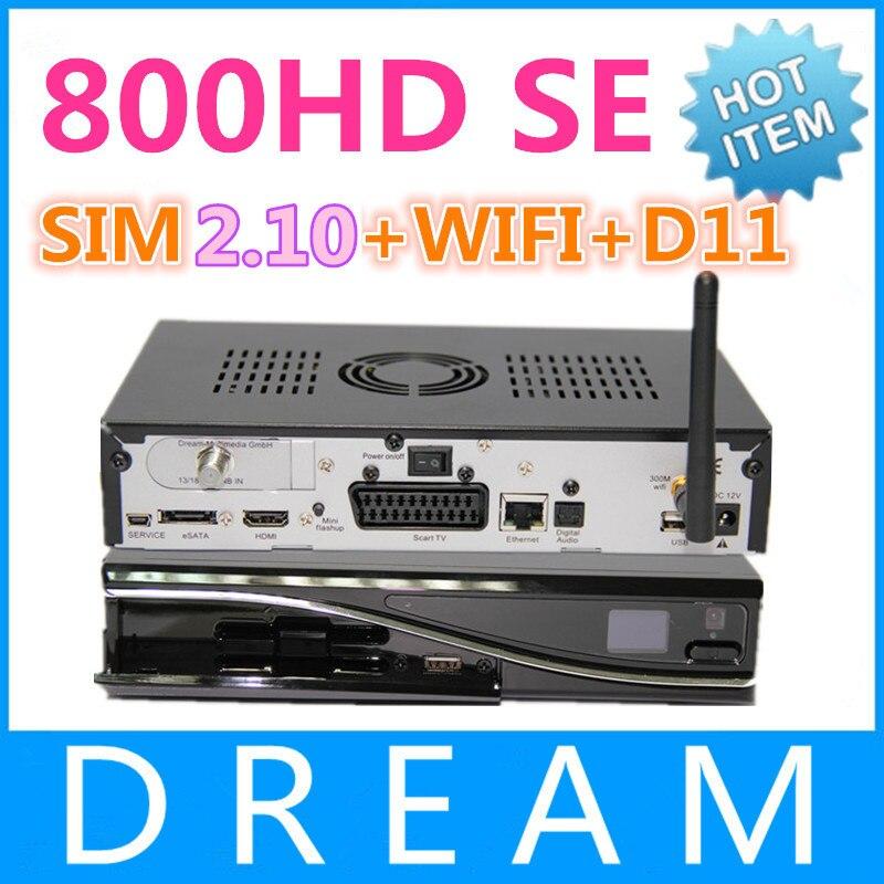 DM800 HD SE Media player DM800se WIFI DM800hd SE sim 2 10