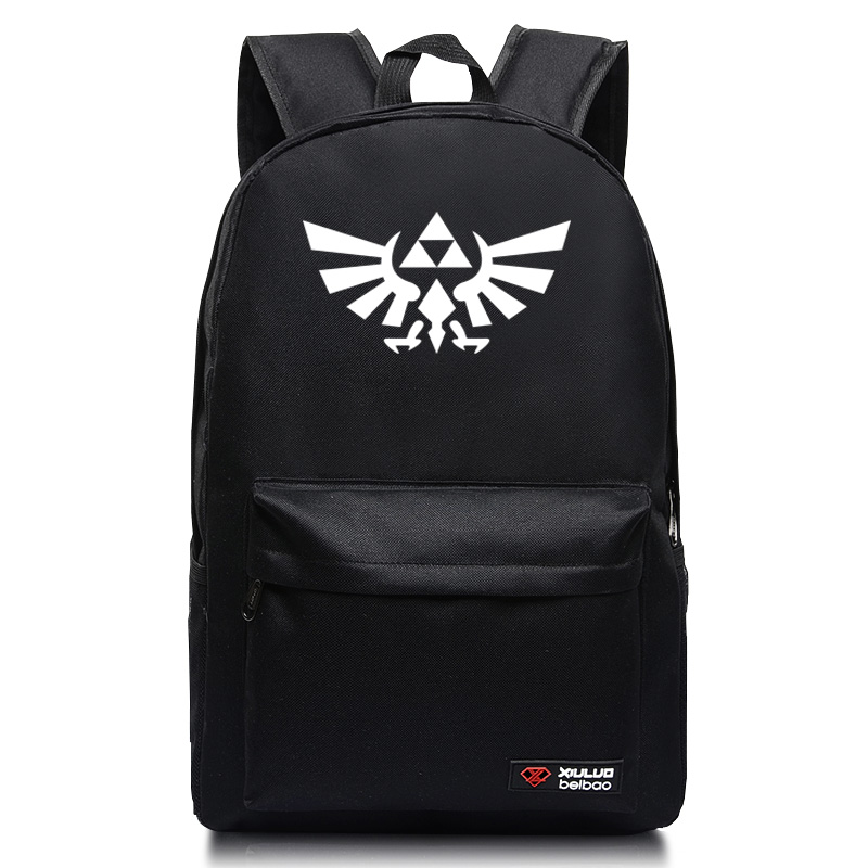 The Legend of Zelda Anime Cosplay 2016 backpack for teenage star sky mochila Unisex School Bag anime the legend of zelda backpack bag school bag shoulder bag cosplay bag a style