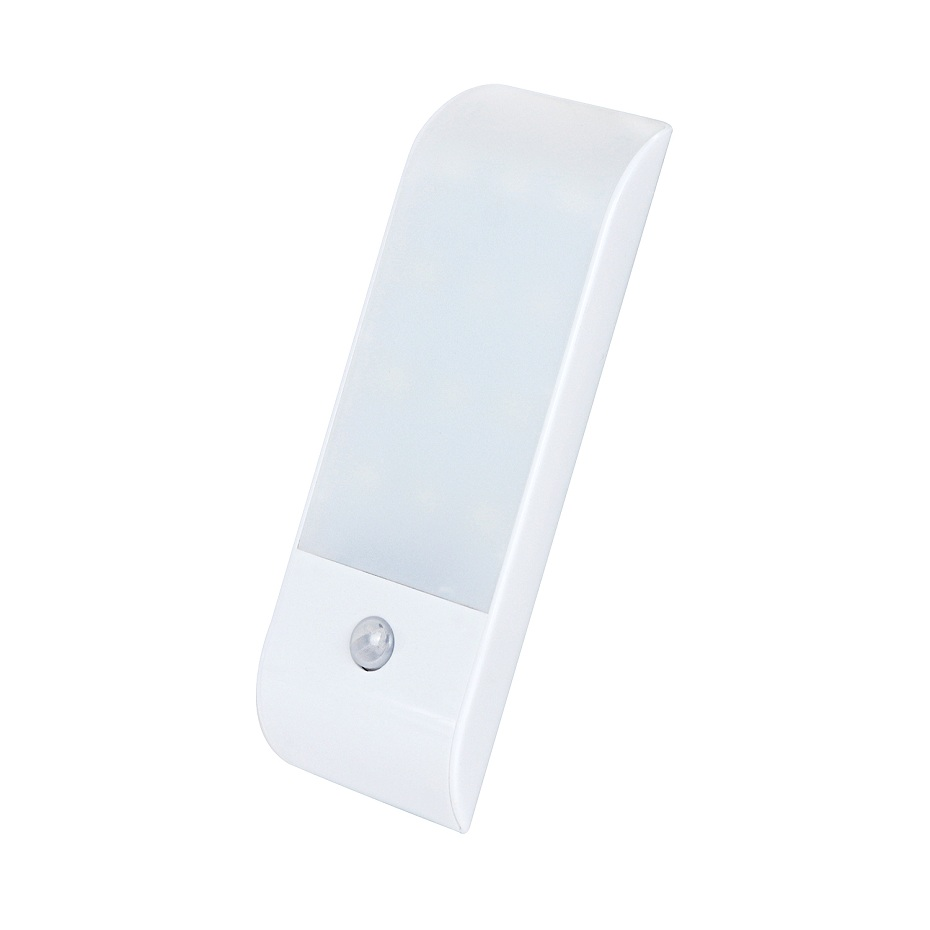 12 LED PIR Infrared Stick-on Rechargeable Wardrobe Night Light USB Motion Detector Induction Sensor Closet Corridor Lamp