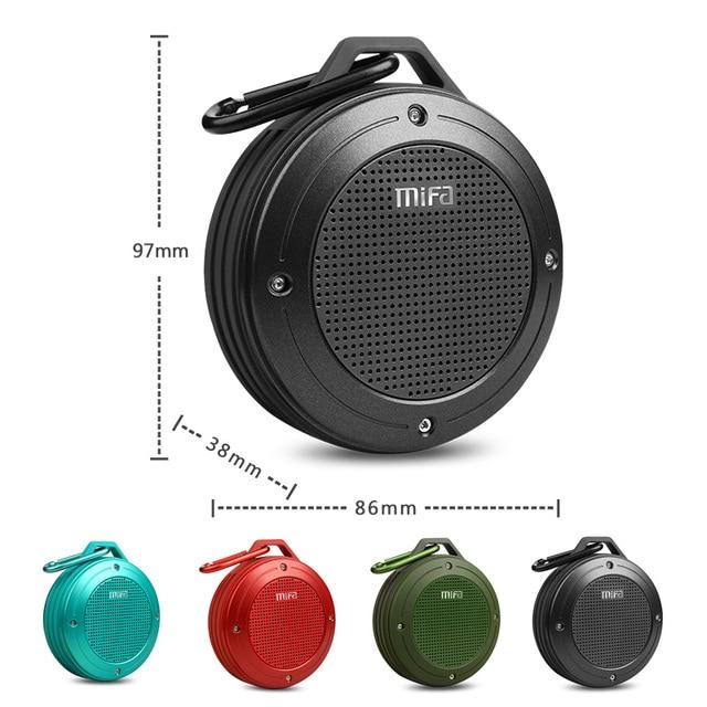 Altavoz inalámbrico Bluetooth con micrófono, estéreo, IXP6 4