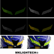 MKLIGHTECH For YAMAHA YZF R15 V3 V3.0 VVA 2017-2019 YZF-R125 2019 Motorcycle Headlight Protector Cover Shield Screen Lens