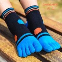 6 זוגות\חבילה ספורט דאודורנט גרבי הבוהן חמש אצבעות גרב צבעוני קצר נשי כותנה נשים גרביים חמודים גרבי קרסול גבירותיי