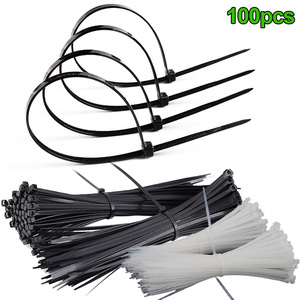 100 Pcs ABS Plastic Cable Ties