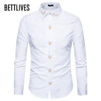 zemtoo Men Shirts New Arrivals Slim Fit Male Shirt Solid Long Sleeve British Style Men's Shirt Business Slim Fit ZE0493