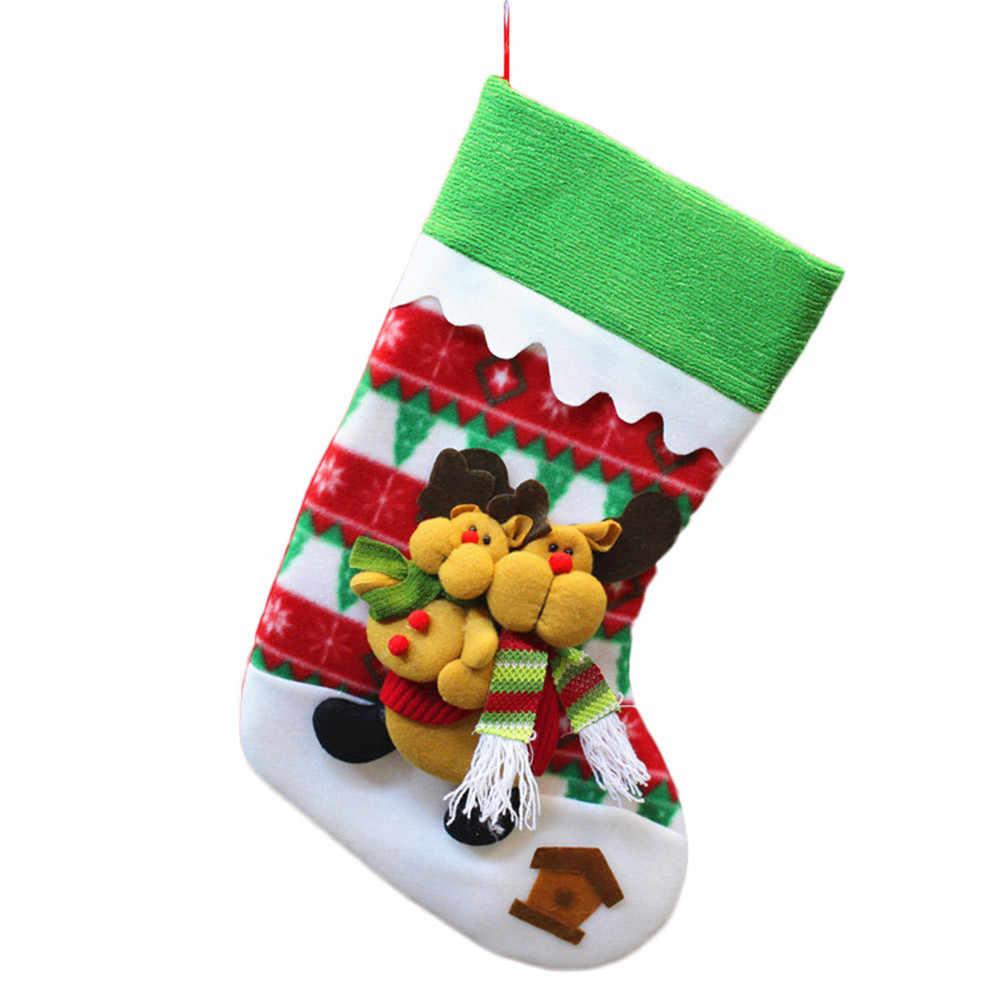 04eb15e838b ... chinese new year decorations christmas stockings personalize christmas  stockings socks new year 2019 party navidad santa