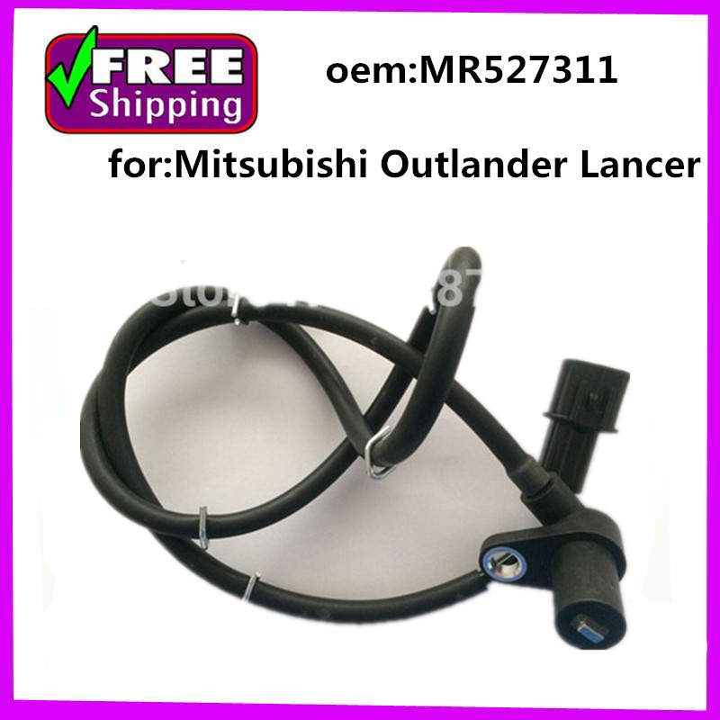 mr527311 abs senzor levý přední lancer cs3a - Front Left  ABS Sensor MR527311 for Mitsubishi Outlander Lancer CU2W 4G69 CS1A CS2A CS3A CS5A CS9A CS3W CS5W CS7W