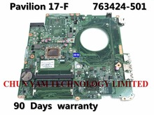 763424-501 For HP PAVILION 17-F Laptop Motherboard DAY23AMB6C0 REV:C DAY23AMB6F0 REV:F A10-4655M mainboard 90 Days Warranty