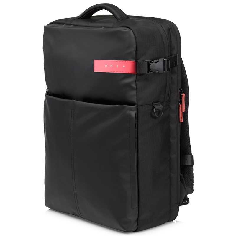 все цены на HP Original Genuine Notebook Laptop Backpack 17.3 inch Fashion Business OMEN Game Bag Men Women Black K5Q03AA онлайн