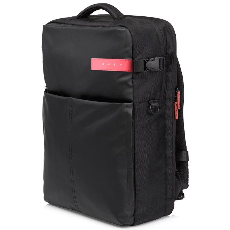 HP Original Genuine Notebook Laptop Backpack 17.3 inch Fashion Business OMEN Game Bag Men Women Black K5Q03AA