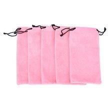 Bags Sunglass-Bag Eyewear Cases Velvet-Material Soft-Eyeglasses Pouch New in 10pcs Drawstring