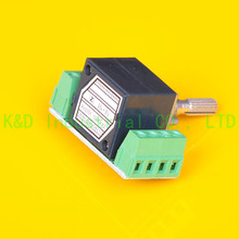 цена на 1pc ALPS 27 type 50K A Knurl shaft AMP volume potentiometer with PCB Board