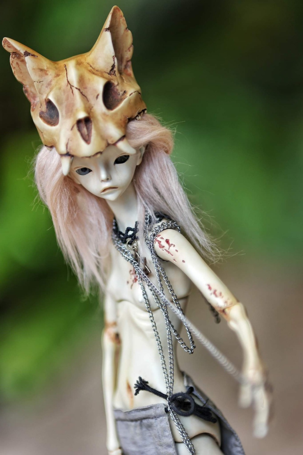 Free shipping 1 4 bjd doll The Hermit IX