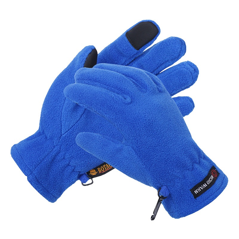 Man and Women Outdoor Winter Fleece Gloves Touch Screen Gloves Touch Screen Motorcycle Free Shipping 1pair