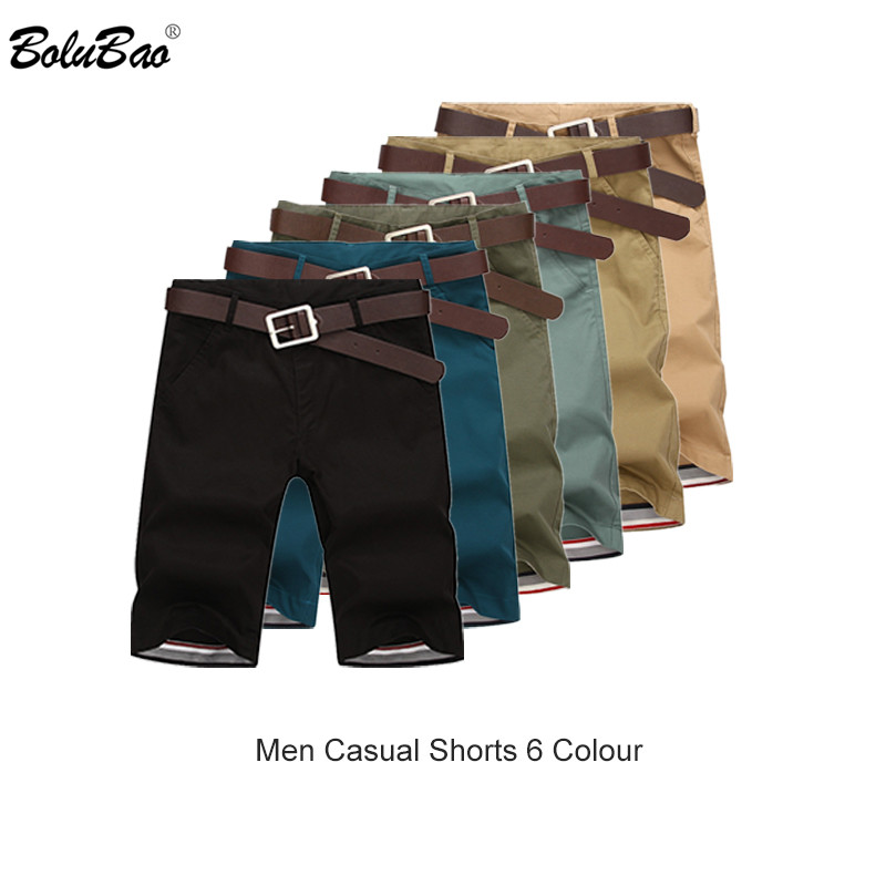 BOLUBAO Fashion Brand Men Shorts Summer Mens Beach Shorts Casual Male Short Clothing Solid Color Men's Shorts