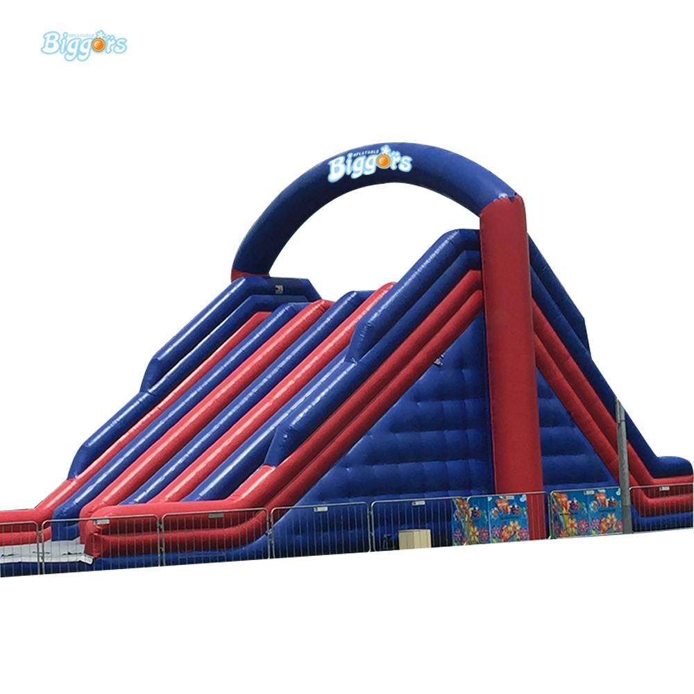 Commercial 6 in 1 Bouncy Castle Outdoor Trampoline Backyard Inflatable Obstacle Course Inflatable Bouncer double slides commercial inflatable bouncer bounce house