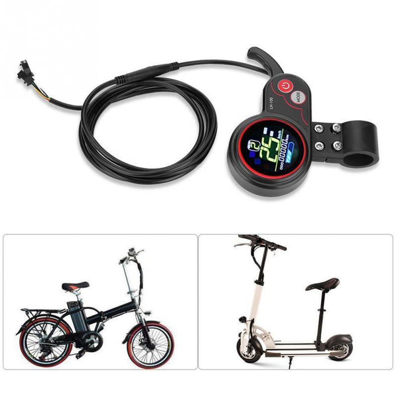 Shift Switch Stable Dual Mode Electric Bicycle Controller 250W 350W Multiple Setting Durable LCD Display Panel Universal Scooter