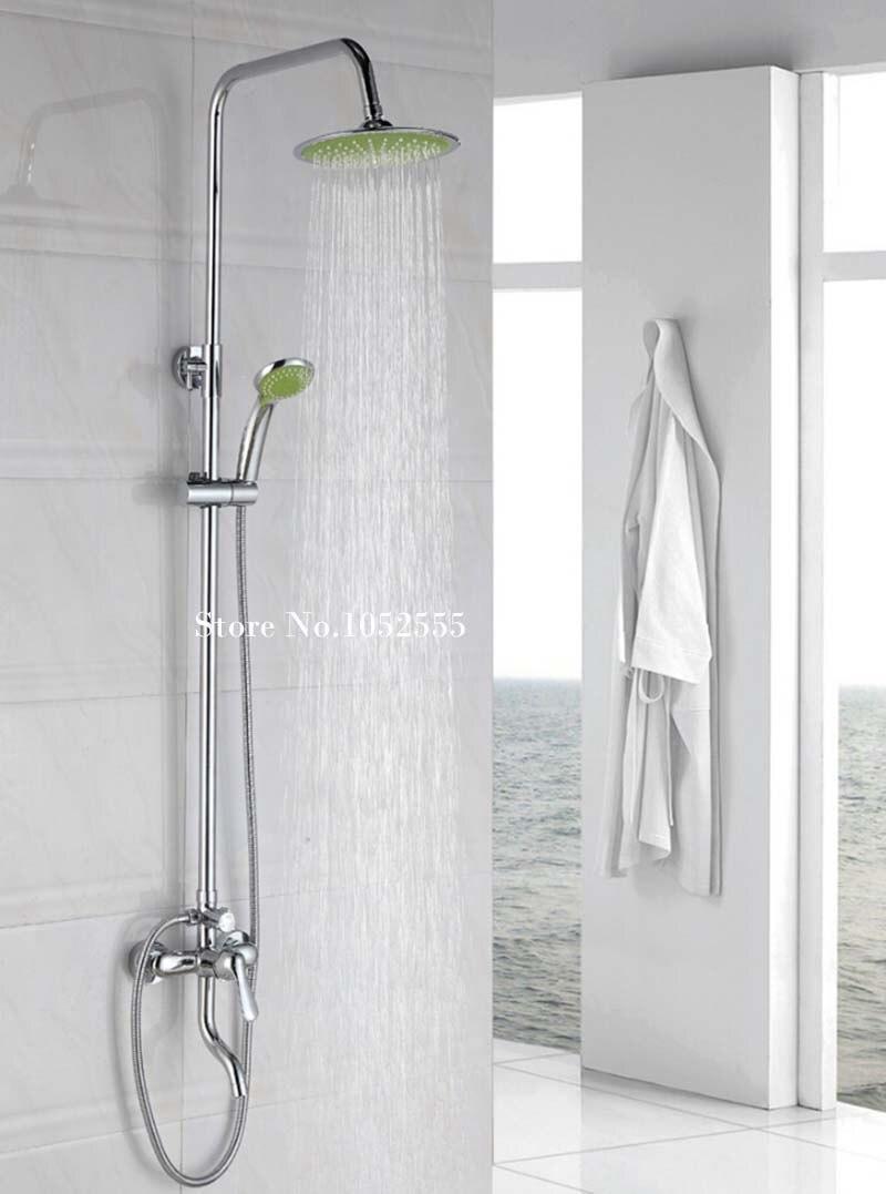 2016 New Arrival Bathroom Modern Shower Set Faucet Shower Faucet Round Shower Head Tub Mixer Faucet F7 Shower Faucets Shower Setmixer Faucet Aliexpress