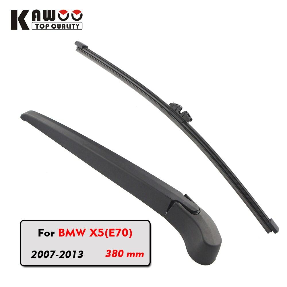 Kawoo car rear wiper blade blades back window wipers arm for bmw x5 e70