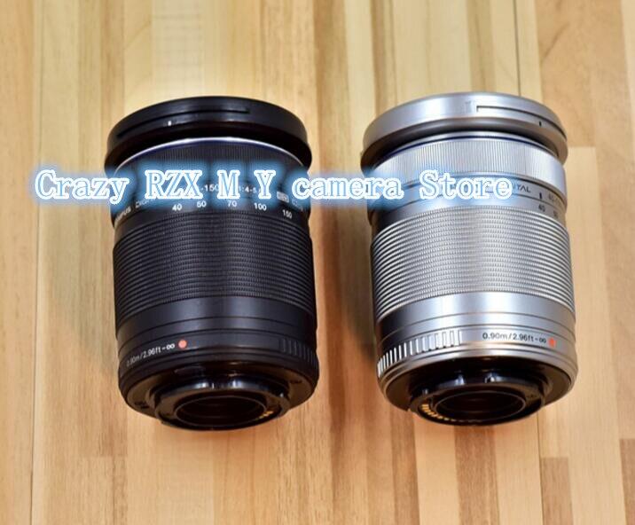 95% nuevo M. ZUIKO DIGITAL ED 40-150mm f/4-5,6 R lente para Olympus E-PL8 E-PL7 E-PL6 E-PL3 e-PL1 EP3 EP5 E-M1 E-M5 E-M10 Cámara