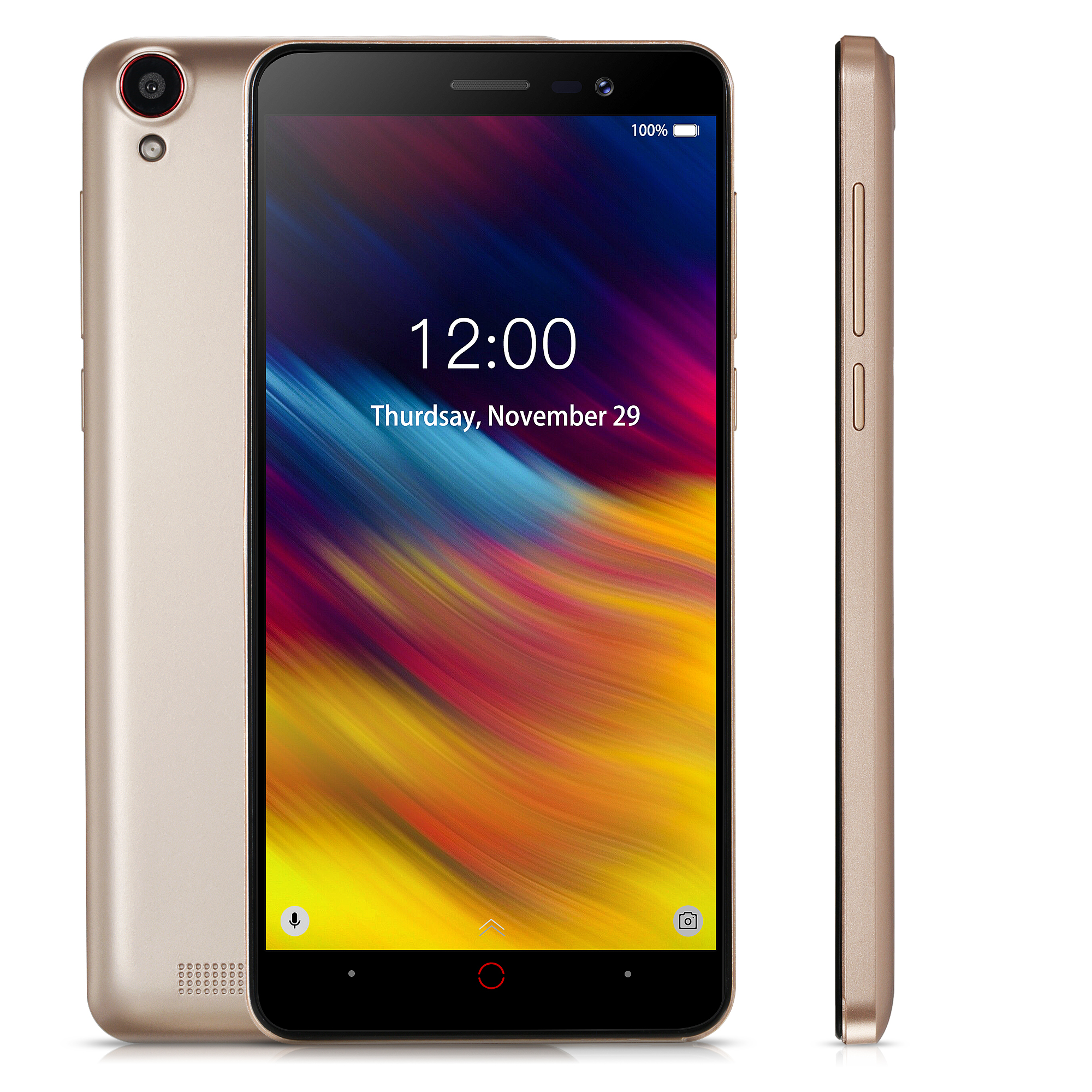 Doogee X100 Mobile Phone MTK6580 Quad Core Android 8.1 1GB RAM 8GB ROM 3G WCDMA 5.0MP Dual SIM Smartph