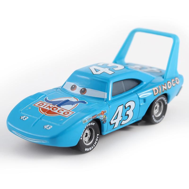 все цены на Cars Disney Pixar Cars No.43 Race Team The King Metal Diecast Toy Car 1:55 Loose Brand New In Stock Disney Cars2 And Cars3 онлайн