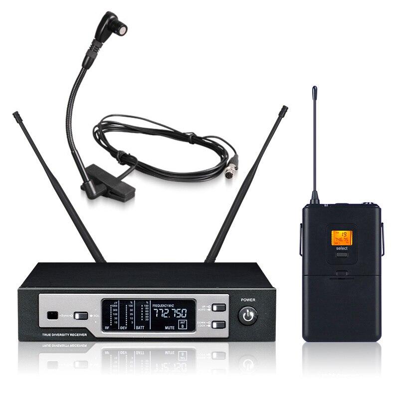 New High Quality Professional Sax Wireless Microphone SKM9100 True Diversity Handheld Wireless Microphone