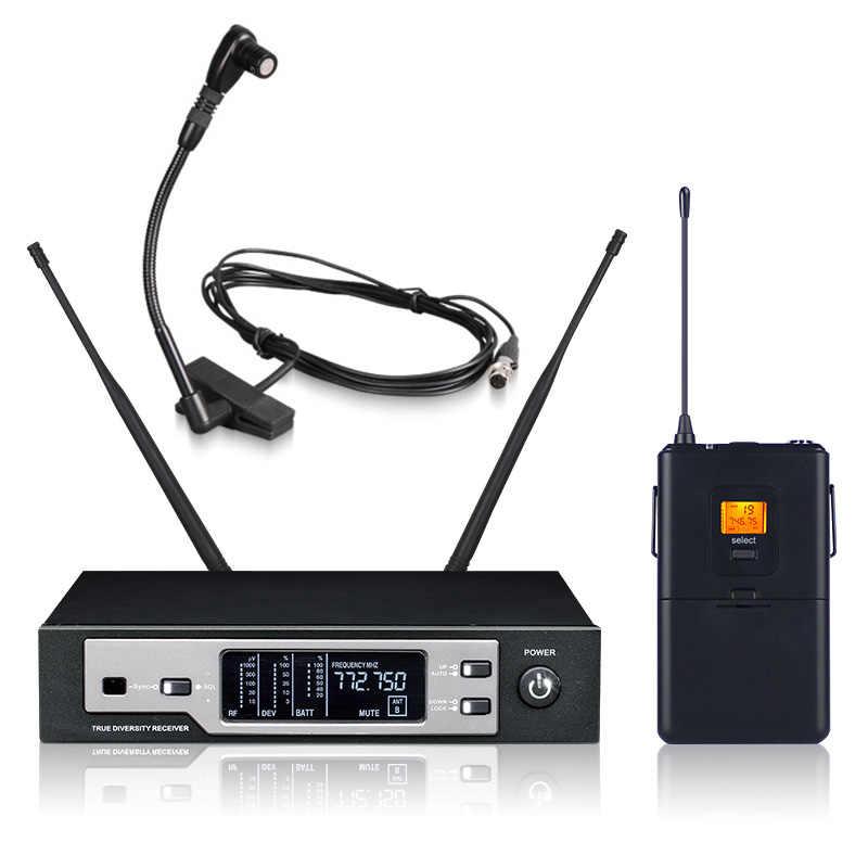 Baru Kualitas Tinggi Profesional Sax Mikrofon Nirkabel SKM9100 True Diversity Handheld Nirkabel Mikropon