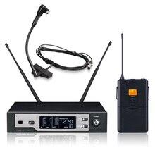 Nova Alta Qualidade Profissional Sax SKM9100 Verdadeira Diversidade de microfone sem fio Handheld Microfone Sem Fio