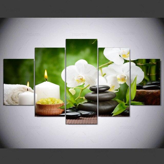 5 bảng điều chỉnh Hiện Đại hd Sạch Zen Road in Nghệ Thuật vải nghệ thuật tường khung tranh tranh đối living bức tranh tường phòng kn-480