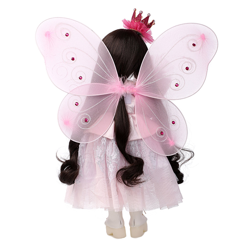 купить NPK Reborn Baby Doll 45cm Silicone 3D Lifelike Jointed Toy Kids Children Princess Gifts Toys S7JN по цене 4765.42 рублей
