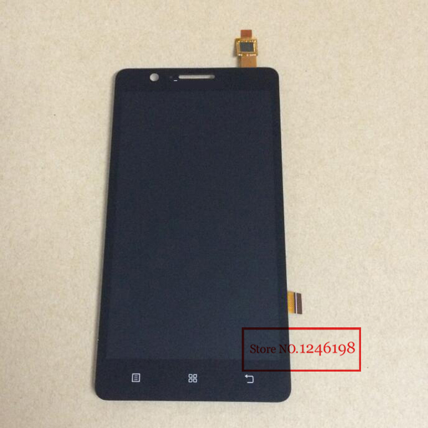 BLACK WHITE High Quality Full LCD Display Touch Screen Digitizer Assembly For Lenovo A536 with LOGO Replacement Parts