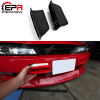 For Nissan Skyline R33 FRP Glass Fiber Bumper Vents Nismo N1 Front Cold Air Intake Duct Body Kit For Skyline R33