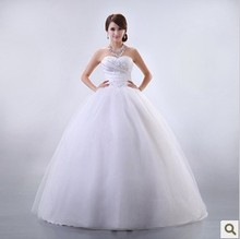 2013 bride wedding elegant sweet princess dress tube top typetrans parent with sequins luxurious