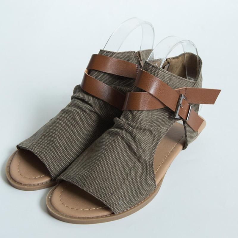 New Arrive 2018 Summer Fashion Women Sandals Shoes Ladies Flat Footwear Outdoor Sandals new arrive women