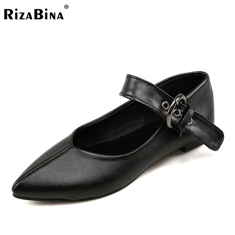 RizaBina size 30-48 women flat shoes pointed toe method two flats shoes ankle strap brand leisure footwear ladies shoes PD00086 suede slingback 9 bling black women pointed toe large size summer flats rhinestone sandals ankle strap ladies beautiful shoes