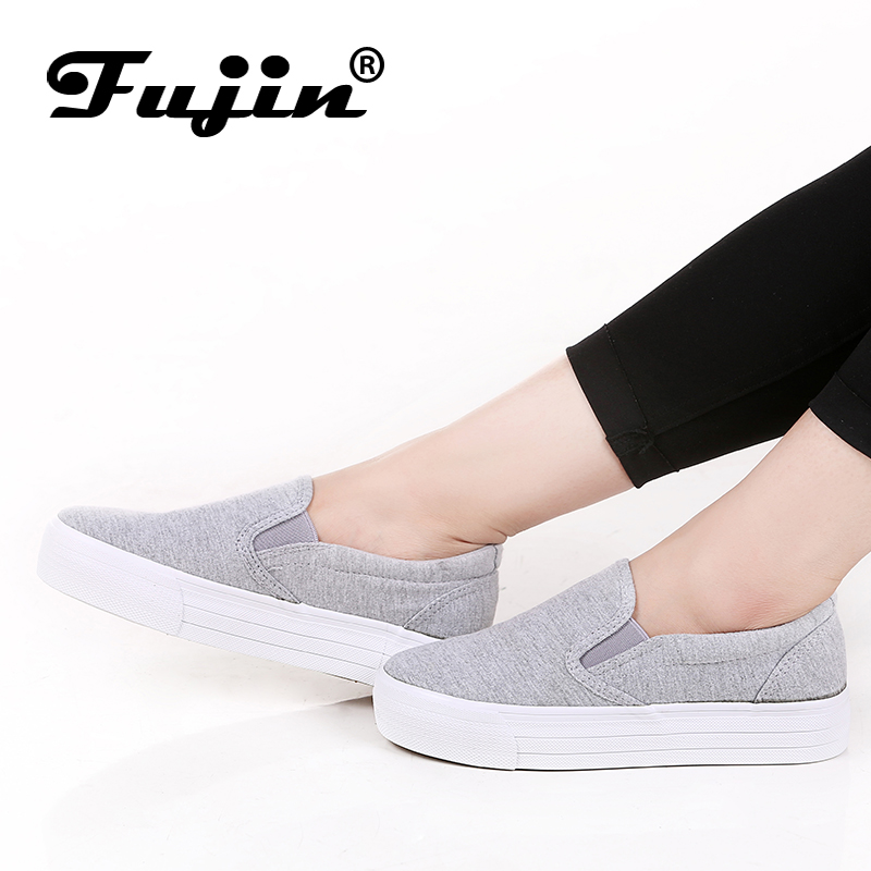 2017 3cm platform women shoes thick sole woman casual shoes canvas shoes