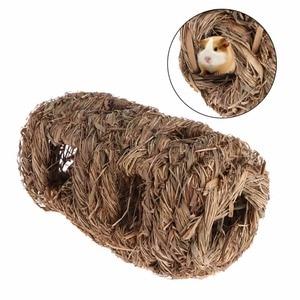 1Pc Pet Hamster Nest Weaved Gr