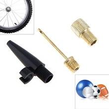 3 шт./лот, стандартный размер, надувной клапан, воздушный шланг, иглы для накачивания насоса, надувной разъем для надувных шариковых велосипедных шин