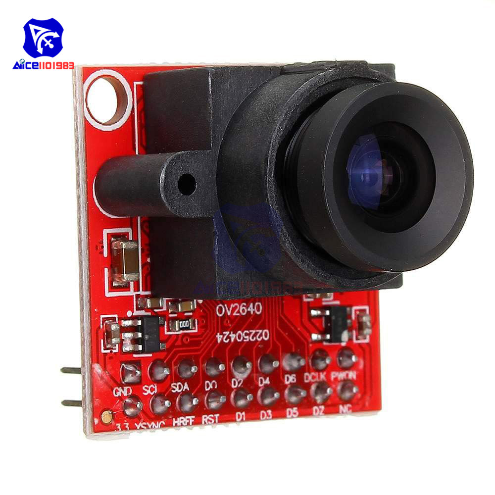 OV2640 Camera Module 2MP Megapixel STM32F4 Driver Source Code Support JPEG Output For Arduino