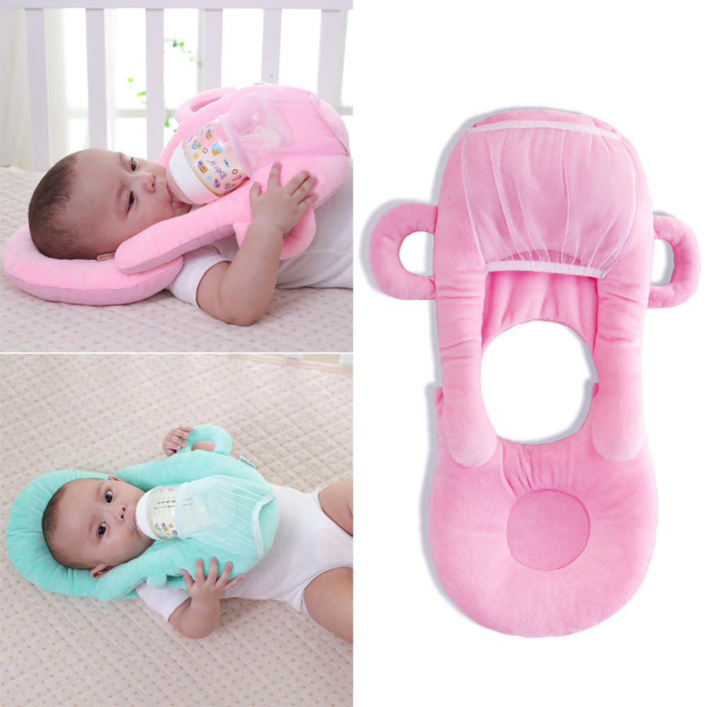 Baby Infant Nursing U-shaped Pillow Newborn Baby Feeding Support Pillow Cushion Prevent Flat Head Pads Anti-spitting Milk Pillow