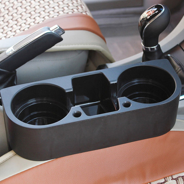 buy car auto cup holder portable multifunction vehicle seat cup cell phone. Black Bedroom Furniture Sets. Home Design Ideas