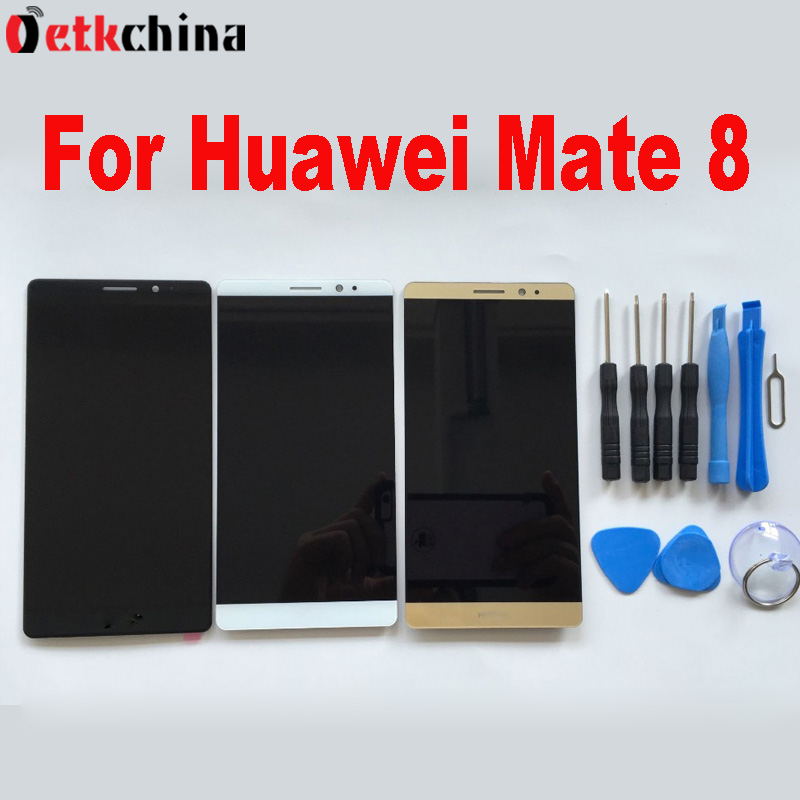 ФОТО For Huawei Mate 8 LCD Screen FHD 6.0inch LCD Display+Touch Screen Panel Digitizer Assembly Replacement For Huawei Mate 8 + Tools