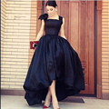2016 Simple Asymmetrical Masquerade Dresses For Long Prom Dresses With Bow Elegant Oriental Party Dress