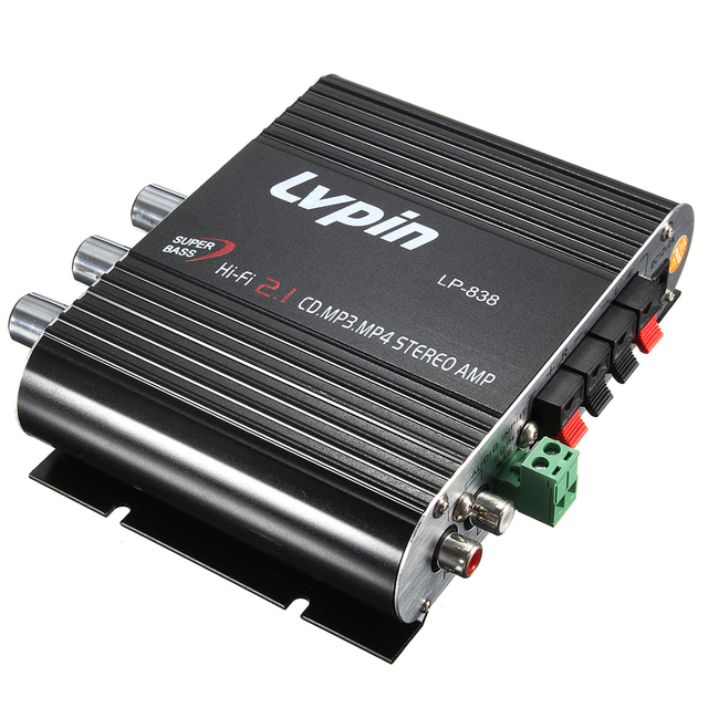 PLA FOR LVPIN 12V 200W Mini Hi Fi Stereo Amplifier MP3 Car Radio ...